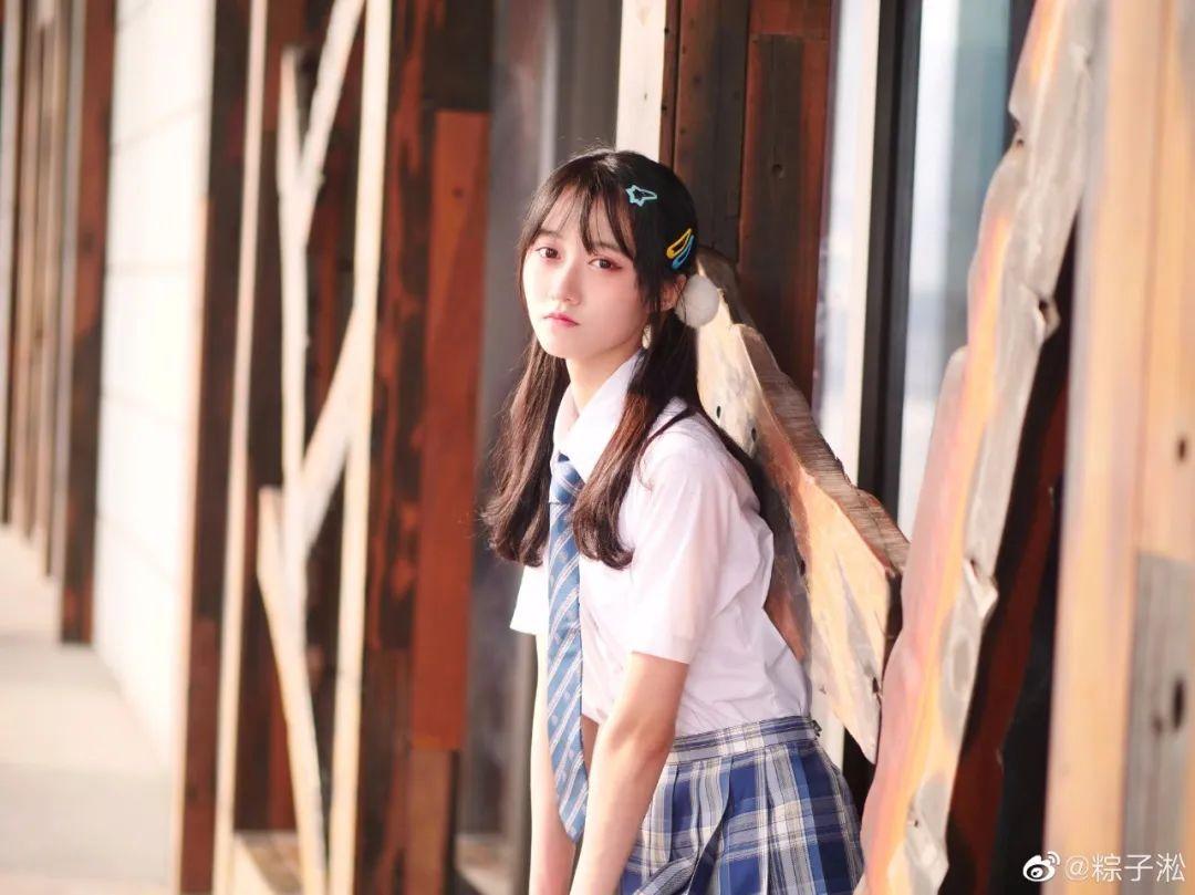 妹子摄影 – JK制服少女的夏日@粽子淞_图片 No.4