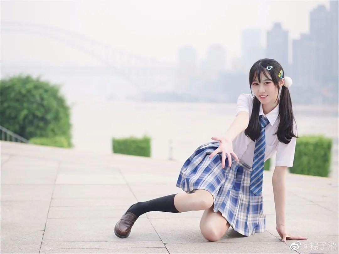 妹子摄影 – JK制服少女的夏日@粽子淞_图片 No.5