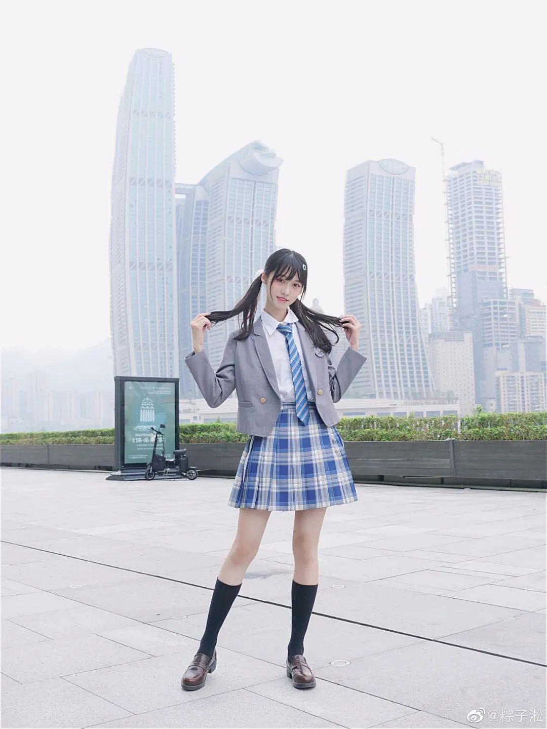 妹子摄影 – JK制服少女的夏日@粽子淞_图片 No.6
