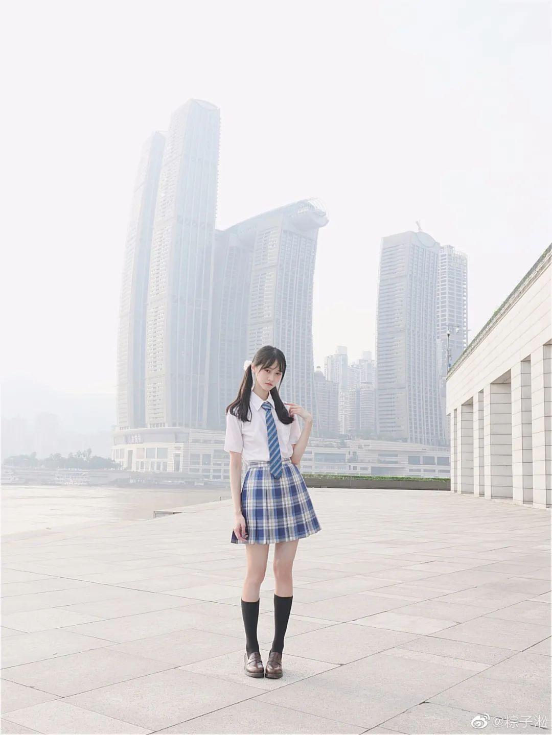 妹子摄影 – JK制服少女的夏日@粽子淞_图片 No.8