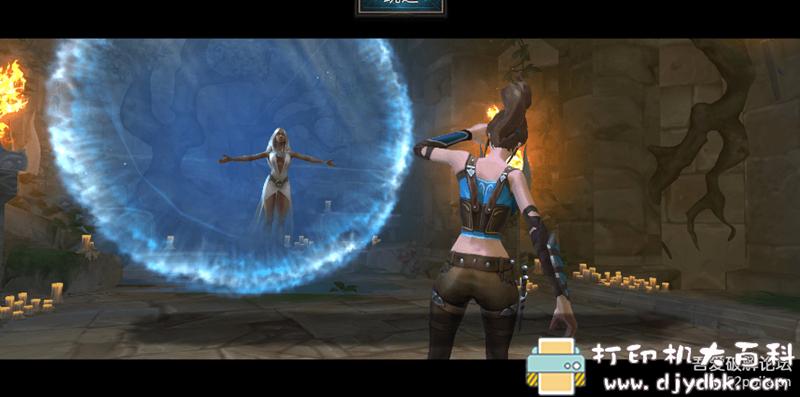 安卓游戏分享:圣剑卫士 mod版 暗黑风MMORPG手游 配图 No.2
