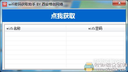 [Windows]本机wifi密码获取助手 配图 No.1