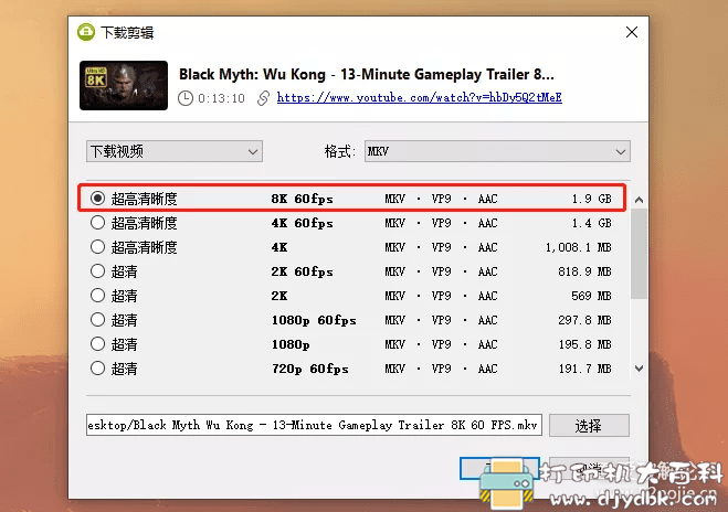[Windows]全平台Youtube视频下载器4K Download,支持4K/8K/3D/VR全画质 配图 No.1