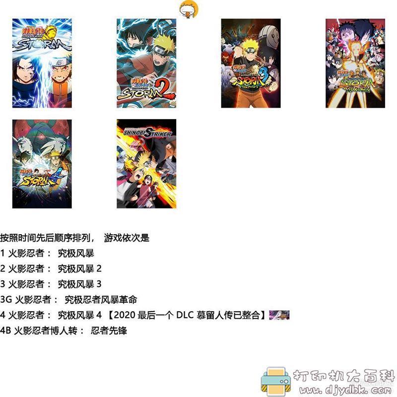 PC游戏分享:《火影忍者全系列典藏版》免安装解压即玩 配图 No.1