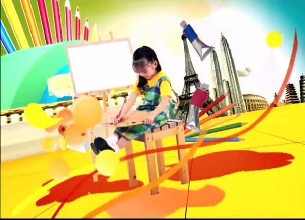 儿童学画画入门教程[水彩蜡笔画]视频教程+PDF图片 No.1