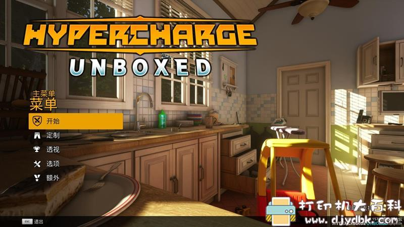 PC游戏分享:HYPERCHARGE Unboxed(超级冲锋:开箱)Update.2 配图 No.2
