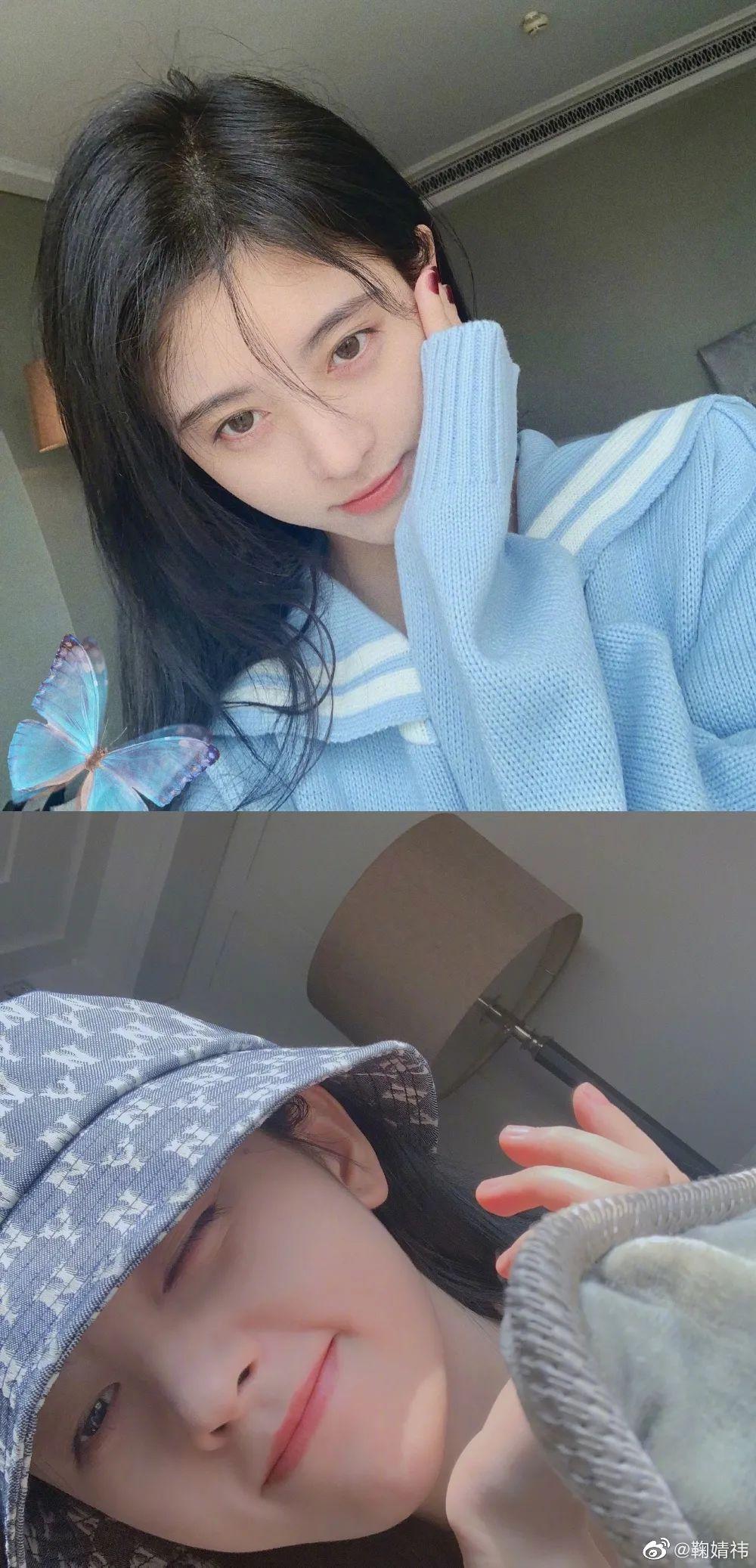 妹子写真 -美少女鞠婧祎和日本演员三吉彩花,你喜欢哪位呢?_图片 No.13