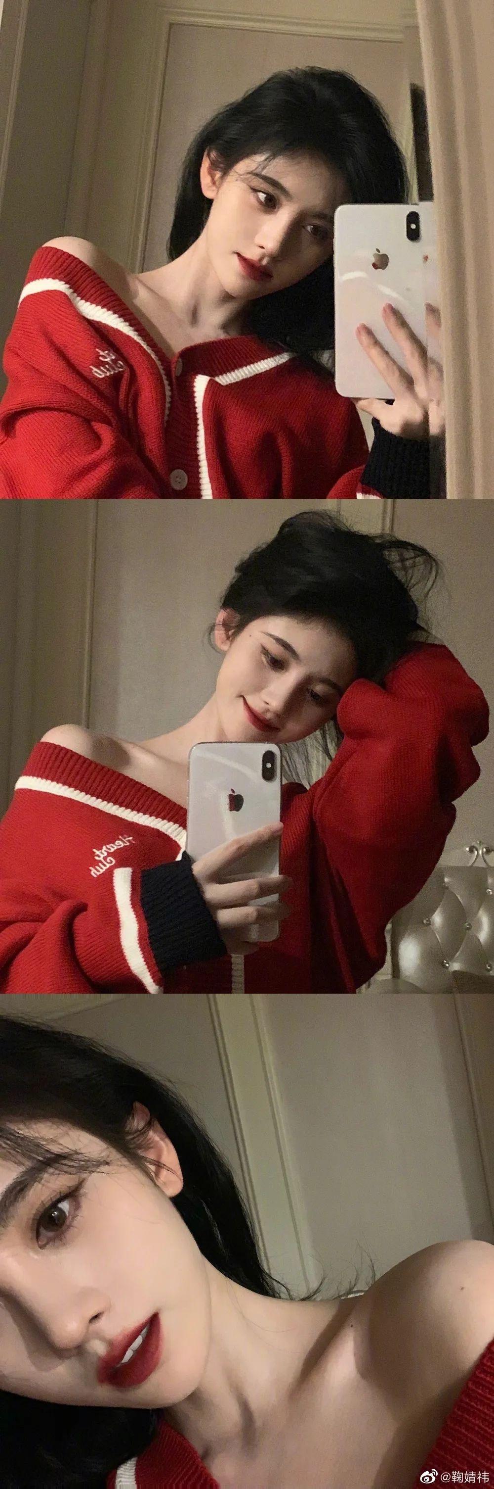 妹子写真 -美少女鞠婧祎和日本演员三吉彩花,你喜欢哪位呢?_图片 No.15