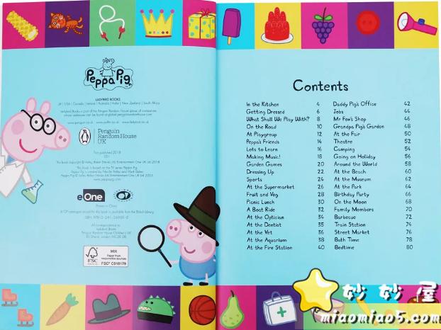 全球热播动画《Peppa Pig粉红猪小妹》(小猪佩奇)主题绘本合集书目整理图片 No.4