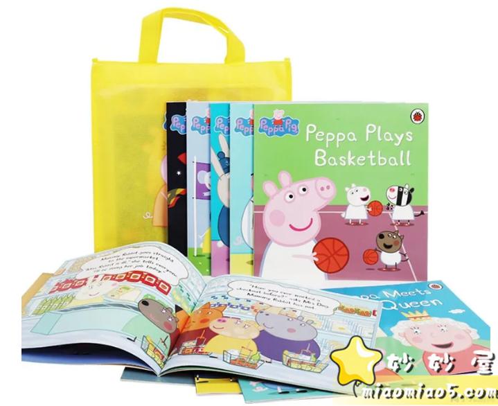 全球热播动画《Peppa Pig粉红猪小妹》(小猪佩奇)主题绘本合集书目整理图片 No.15