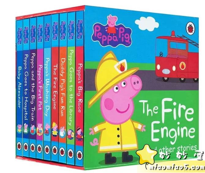 全球热播动画《Peppa Pig粉红猪小妹》(小猪佩奇)主题绘本合集书目整理图片 No.24