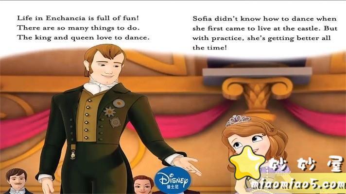 【中英双语绘本】小公主苏菲亚 主题英文绘本:皇家乐趣 Royal Fun精英插画+中英台词图片 No.1