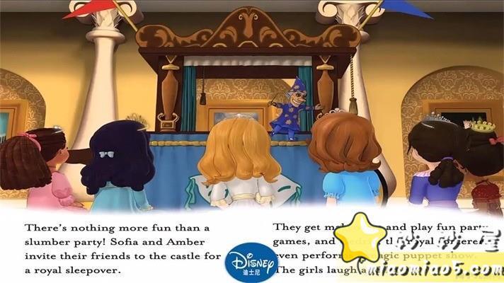 【中英双语绘本】小公主苏菲亚 主题英文绘本:皇家乐趣 Royal Fun精英插画+中英台词图片 No.6