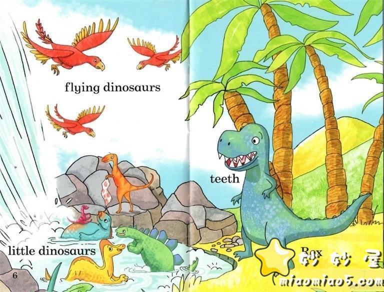 【双语绘本】恐龙主题儿童英文绘本 基础级:大恐龙雷克斯 Rex the Big Dinosaur 带精美插画图片 No.1