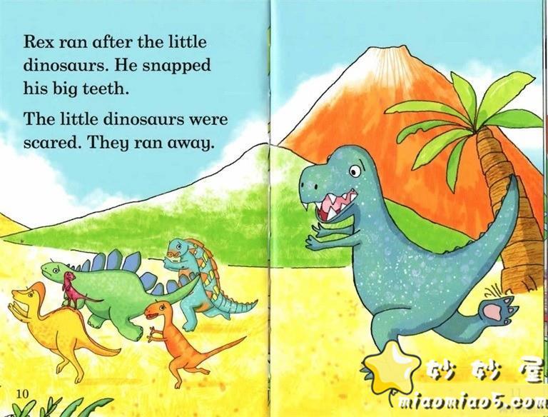 【双语绘本】恐龙主题儿童英文绘本 基础级:大恐龙雷克斯 Rex the Big Dinosaur 带精美插画图片 No.3
