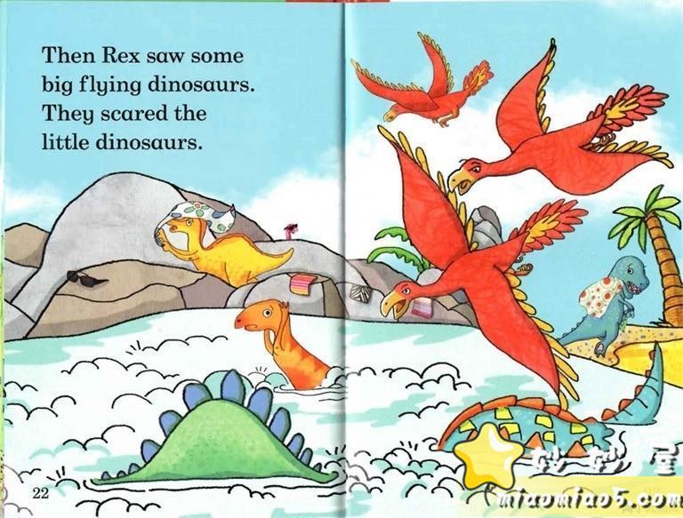 【双语绘本】恐龙主题儿童英文绘本 基础级:大恐龙雷克斯 Rex the Big Dinosaur 带精美插画图片 No.9