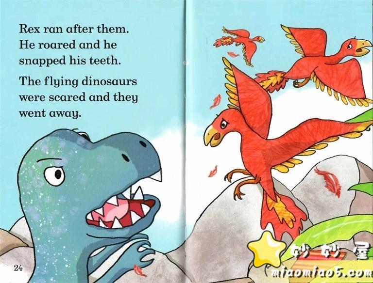 【双语绘本】恐龙主题儿童英文绘本 基础级:大恐龙雷克斯 Rex the Big Dinosaur 带精美插画图片 No.10