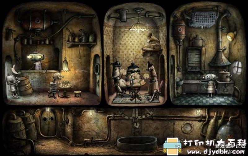 安卓游戏分享:【冒险解谜】《机械迷城》v2.5.6安卓中文版 配图 No.5