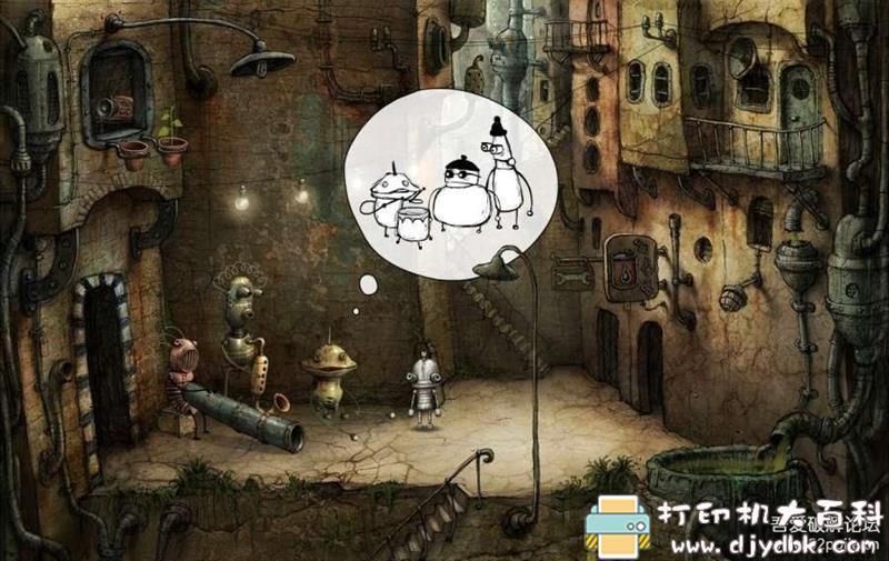安卓游戏分享:【冒险解谜】《机械迷城》v2.5.6安卓中文版 配图 No.6