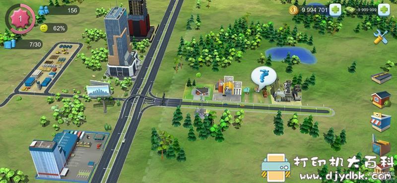安卓游戏分享:模拟城市:我是市长 谷歌Play正版可联网使用9999999绿钞和金币存档图片