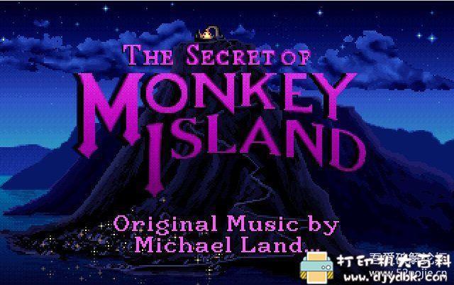 PC游戏分享:[DOS经典怀旧游戏]猴岛小英雄 1+2 配图 No.1