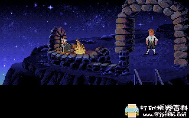 PC游戏分享:[DOS经典怀旧游戏]猴岛小英雄 1+2 配图 No.2