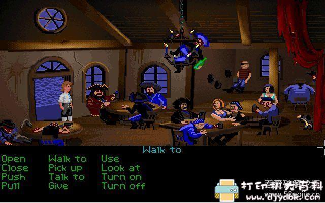 PC游戏分享:[DOS经典怀旧游戏]猴岛小英雄 1+2 配图 No.4