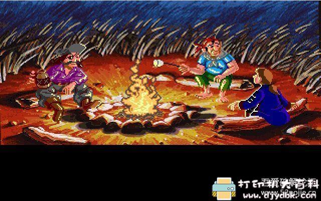 PC游戏分享:[DOS经典怀旧游戏]猴岛小英雄 1+2 配图 No.7