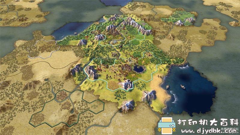 PC游戏分享:【策略】文明6 v1.0.12.9全DLC版 附345历代图片 No.6