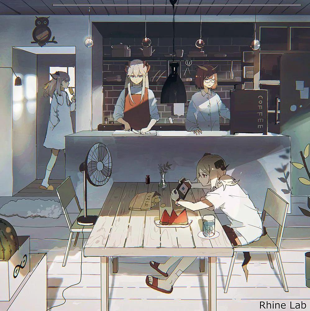 日推画师lococo插画作品,暗黑风末日少女系列,另类的风采_图片 No.16