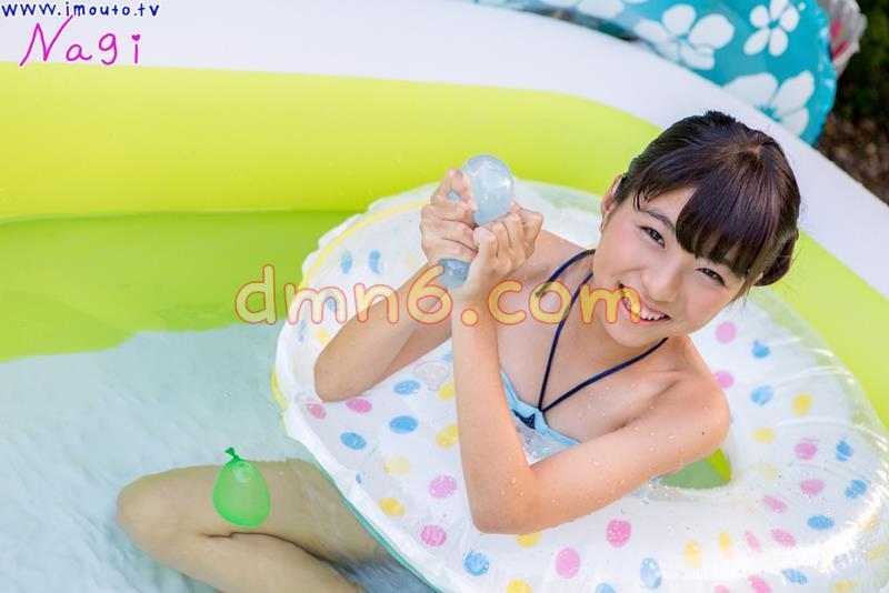 [写真图集]池田なぎさ 写真集st2_natsusyoujyo_ikeda_n02,水蓝色泳装少女与超大泳池_图片 No.3