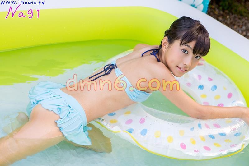 [写真图集]池田なぎさ 写真集st2_natsusyoujyo_ikeda_n02,水蓝色泳装少女与超大泳池_图片 No.4