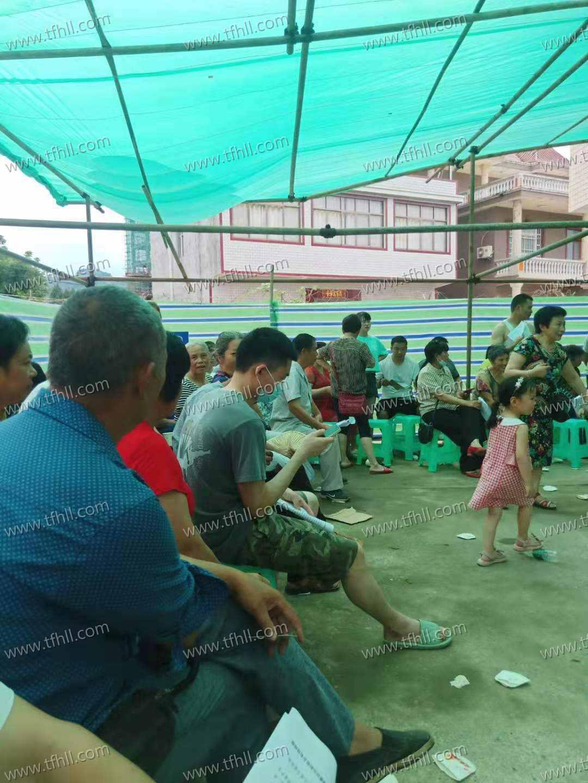 6月16日,乡镇上打了第二针新冠疫苗图片 No.2