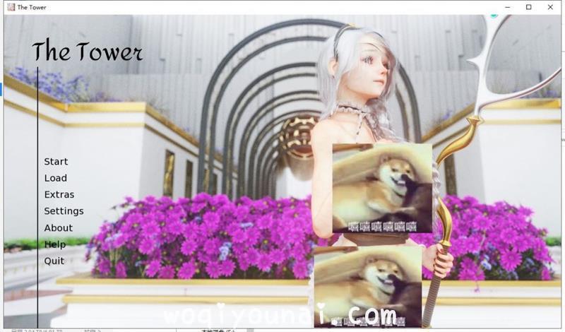 【SLG/欧美风/白毛美少女/重口】theTower DL官方中文版【1.7G/新作/CV】 - [woqiyounai.com] No.1