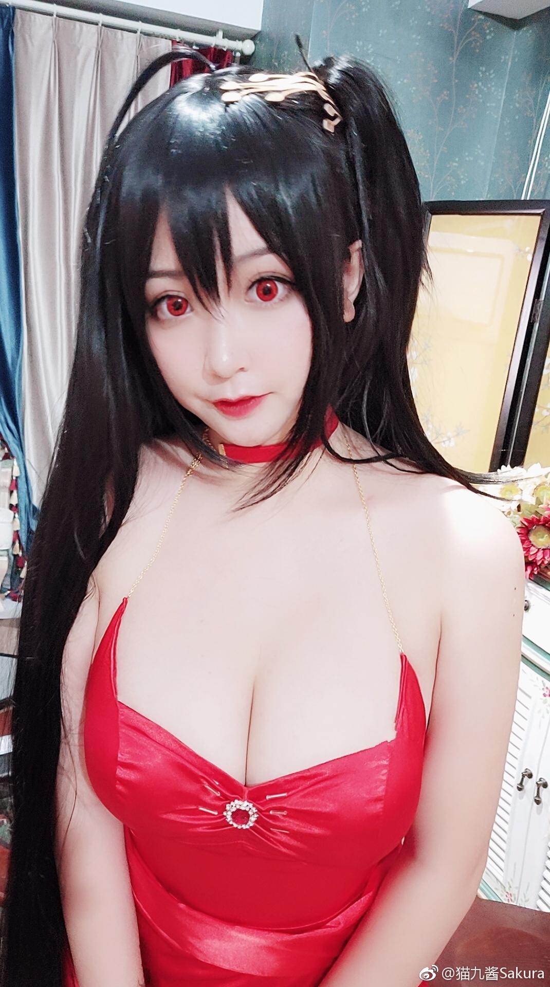 猫九酱Sakura指挥官大人~让我们打响新年第一炮吧!_美女福利图片