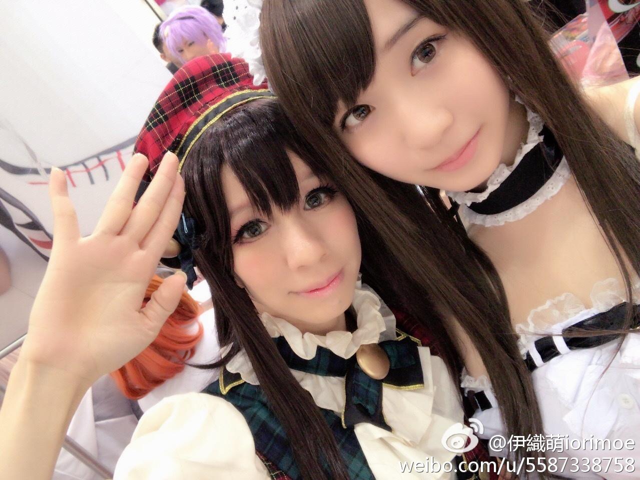 伊織萌iorimoe每次都很感谢在台湾的朋友巧克酱(第一张)_美女福利图片