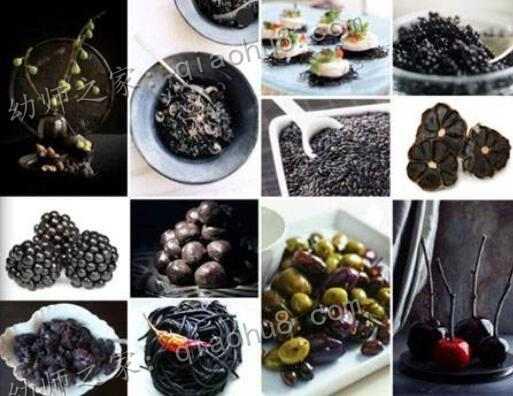 【教案】大班健康:我们爱吃黑色食品_图片 2