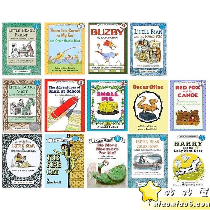 暢銷全球的兒童英語教材:《I Can Read!》系列 PDF文檔+音頻(0級-4級全套,適合0-14歲孩子)圖片 No.1