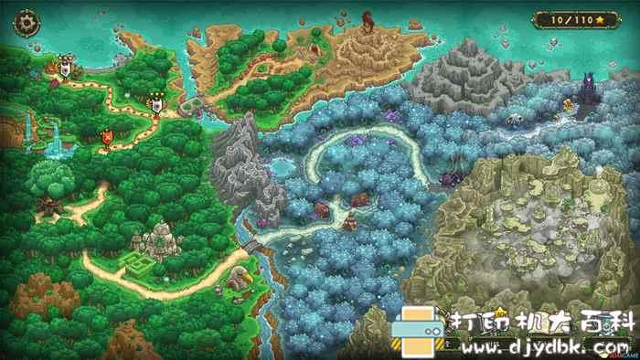 PC游戏:王国保卫战:起源(Kingdom Rush Origins)》集成遗忘宝藏扩展包图片 No.4