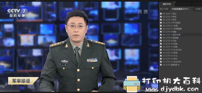 2019年11月更新:最新央视直播源图片 No.2