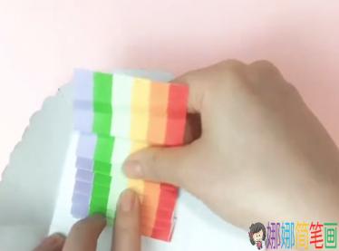创意彩虹卡片手工制作_图片 12