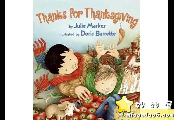 分享5本与【感恩节主题相关】的儿童英语绘本图片 No.5