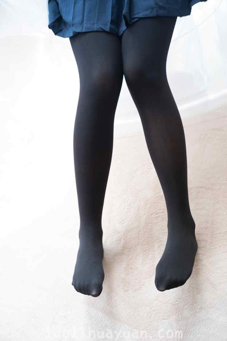 [森萝财团] -BETA-024黑色JK制服黑丝袜女孩端庄优雅[109P/836 MB]_图片 4