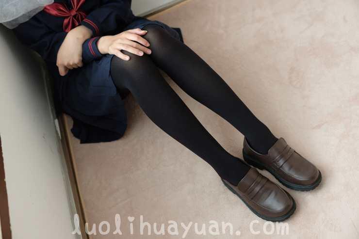 [森萝财团] -BETA-024黑色JK制服黑丝袜女孩端庄优雅[109P/836 MB]_图片 6