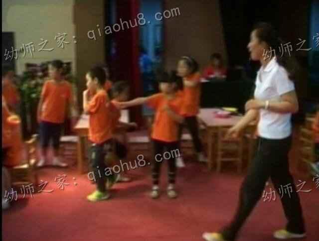 【两个版本视频+教案】幼儿园优质课 大班数学活动《走小路》_图片 3