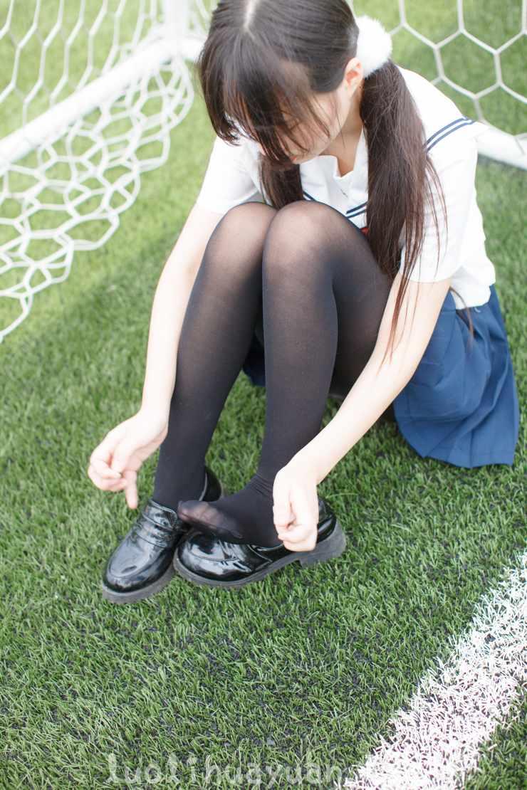 [少女秩序] – EXVOL系列之 EXVOL.01 少女JK制服戏水与宽松粉色t恤居家 [56P/377 MB]_图片 6