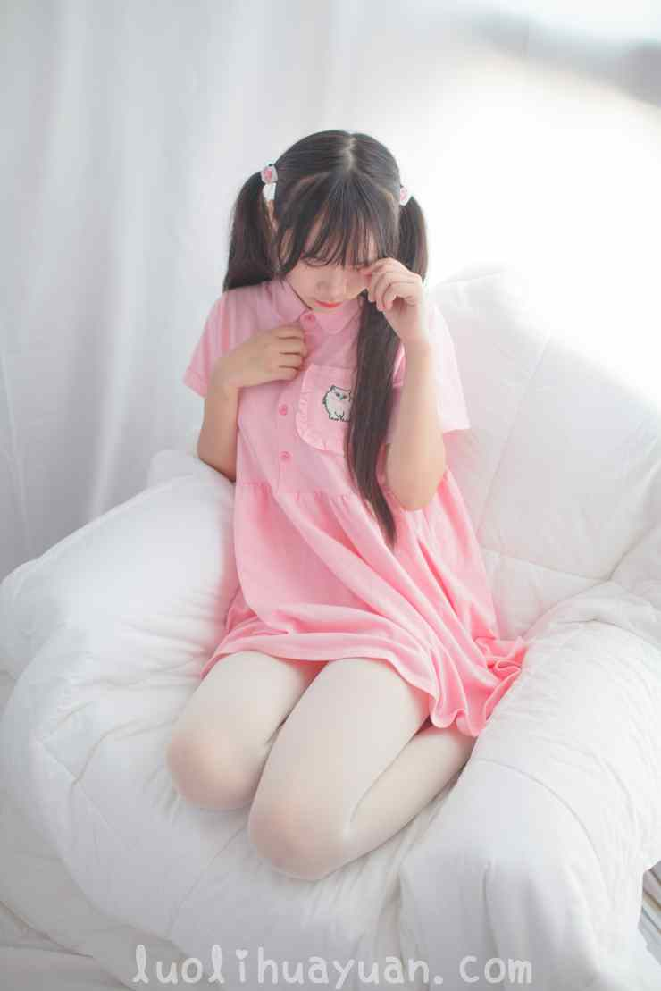 [少女秩序] – EXVOL系列之 EXVOL.01 少女JK制服戏水与宽松粉色t恤居家 [56P/377 MB]_图片 16