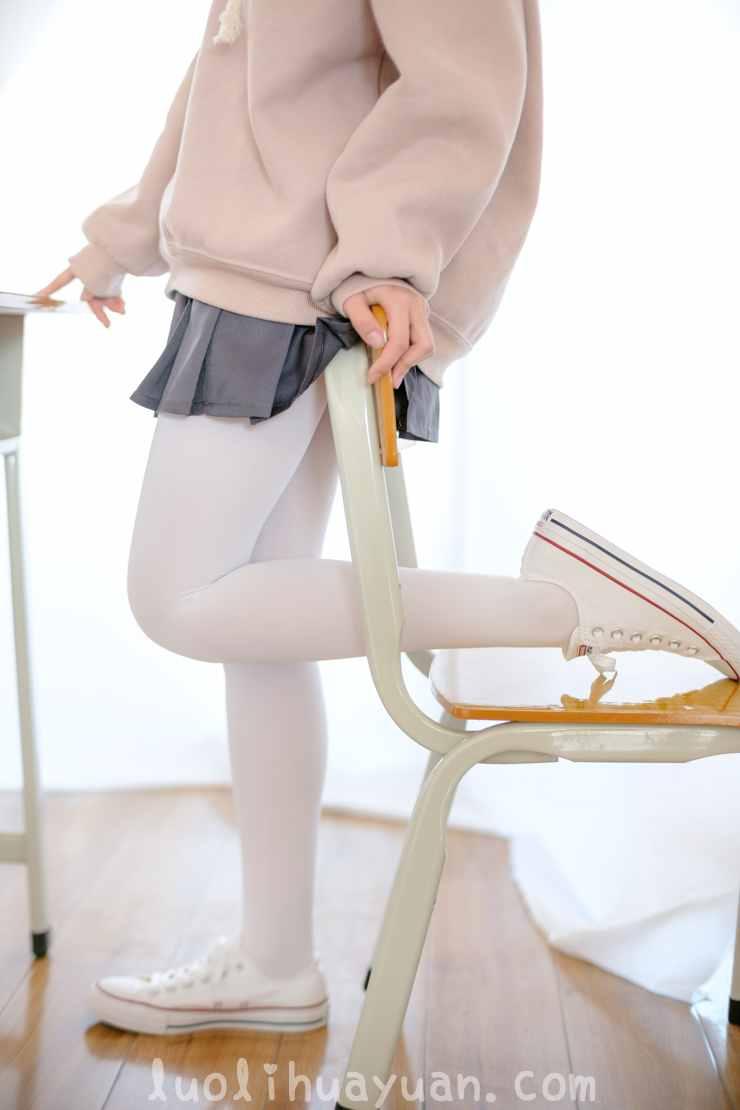 [森萝财团] -X系列之 X-002 粉色卫衣小短裙 可爱双马尾女孩 [105P/1V 1522 MB]_图片 4