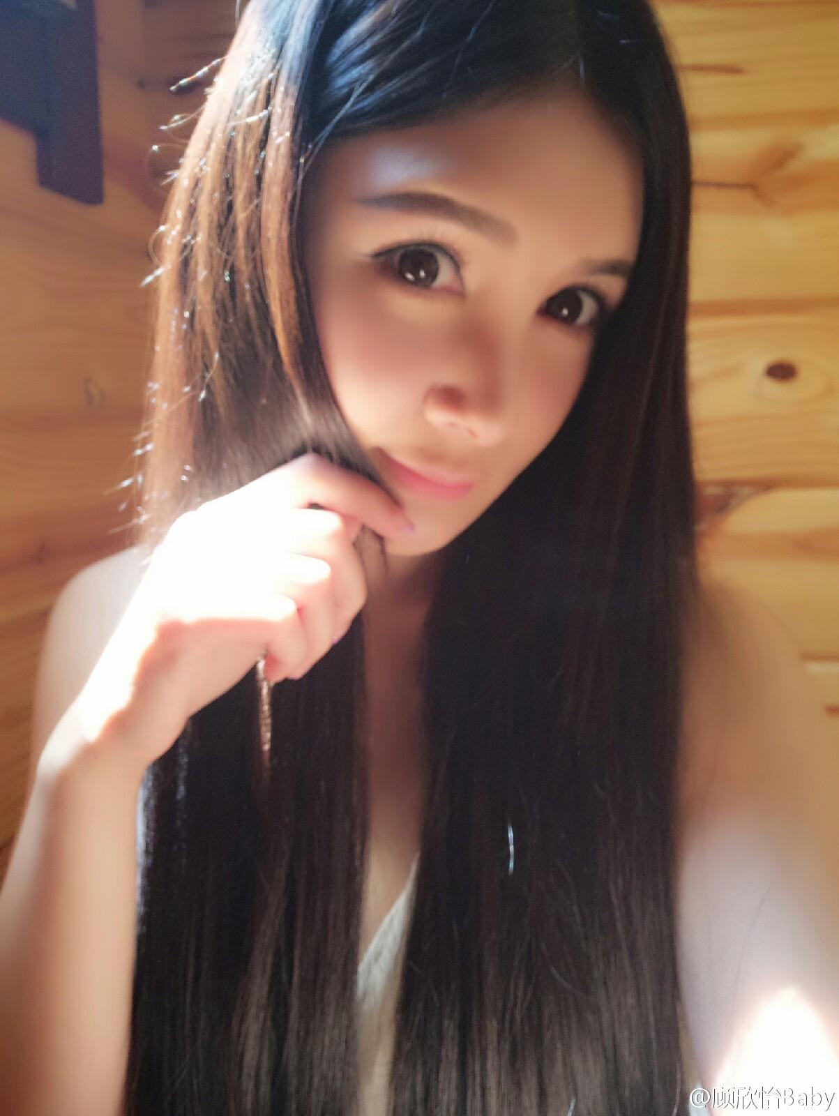 顾欣怡Baby云曼第一天,睡到中午才起床[困死了],晚饭_美女福利图片