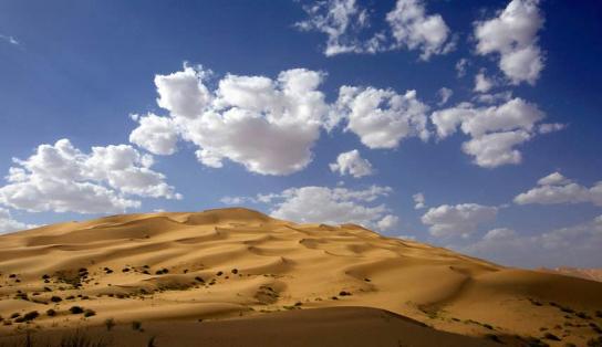 响沙湾是一处真正的沙漠